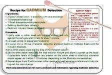 Cadmium Indicator